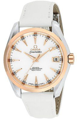 OMEGA Seamaster Aqua Terra 18ct Gold & Diamonds Automatic Co-Axial Watch 231.23.39.21.55.001