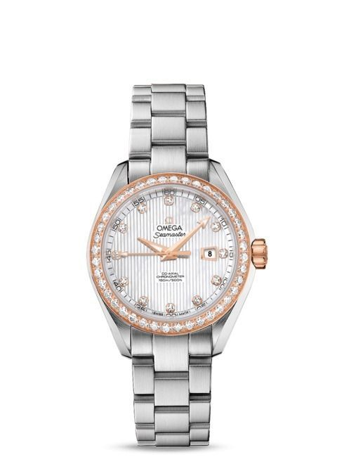 OMEGA Seamaster Aqua Terra Automatic Co-Axial Ladies Watch 231.25.34.20.55.003