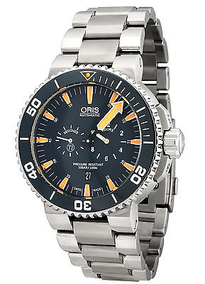 ORIS Tubbataha Lmited Titanium AUTOMATIC Gents Divers Watch 749-7663-7185 MB