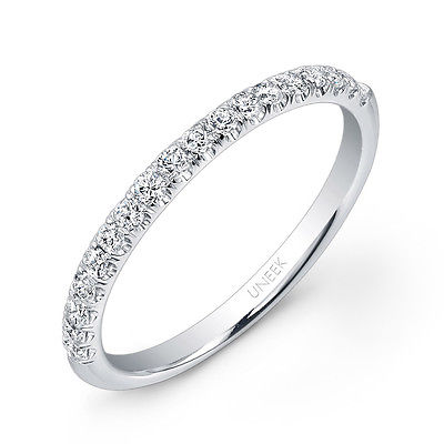 Platinum 0.23ct Diamond Half Eternity Ring - Size N