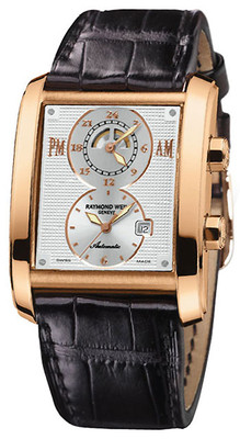 RAYMOND WEIL Don Giovanni Cosi Grande 18ct Gold AUTO Dual Time Gents Watch 12898-G-65001