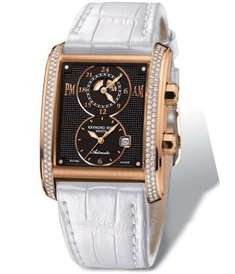 RAYMOND WEIL Don Giovanni Cosi Grande 18ct Rose Gold & Diamond Gents Watch 12898-GS-20001