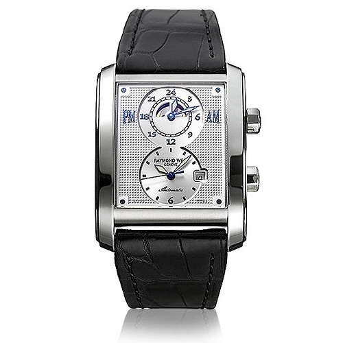 RAYMOND WEIL Don Giovanni Cosi Grande Dual Time Gents Watch 2888-STA-65001