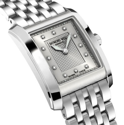 RAYMOND WEIL Don Giovanni Diamond Ladies Watch 5975-ST-65081