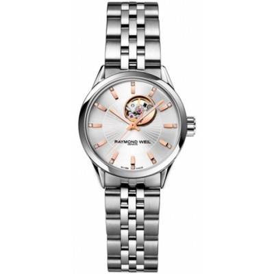 RAYMOND WEIL Freelancer 12 Diamond Automatic Ladies Watch 2410-ST-65981