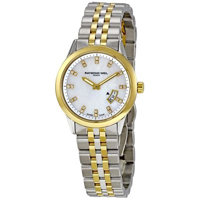 RAYMOND WEIL Freelancer 24 Diamond Ladies Watch 5670-STP-97091