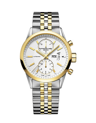 RAYMOND WEIL Freelancer AUTOMATIC Chronograph Gents Watch 7735-STP-30001