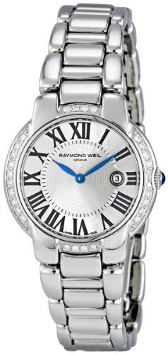 RAYMOND WEIL Jasmine 28 Diamond Ladies Watch 5229-STS-00659