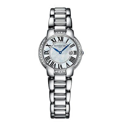 RAYMOND WEIL Jasmine 28 Diamond Ladies Watch 5229-STS-00970