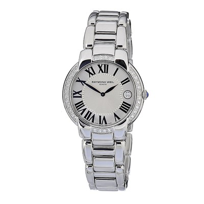 RAYMOND WEIL Jasmine 29 Diamond Ladies Watch 5235-STS-00659
