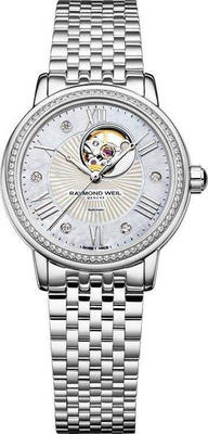 RAYMOND WEIL Maestro 81 Diamond AUTO Ladies Watch 2627-STS-00965