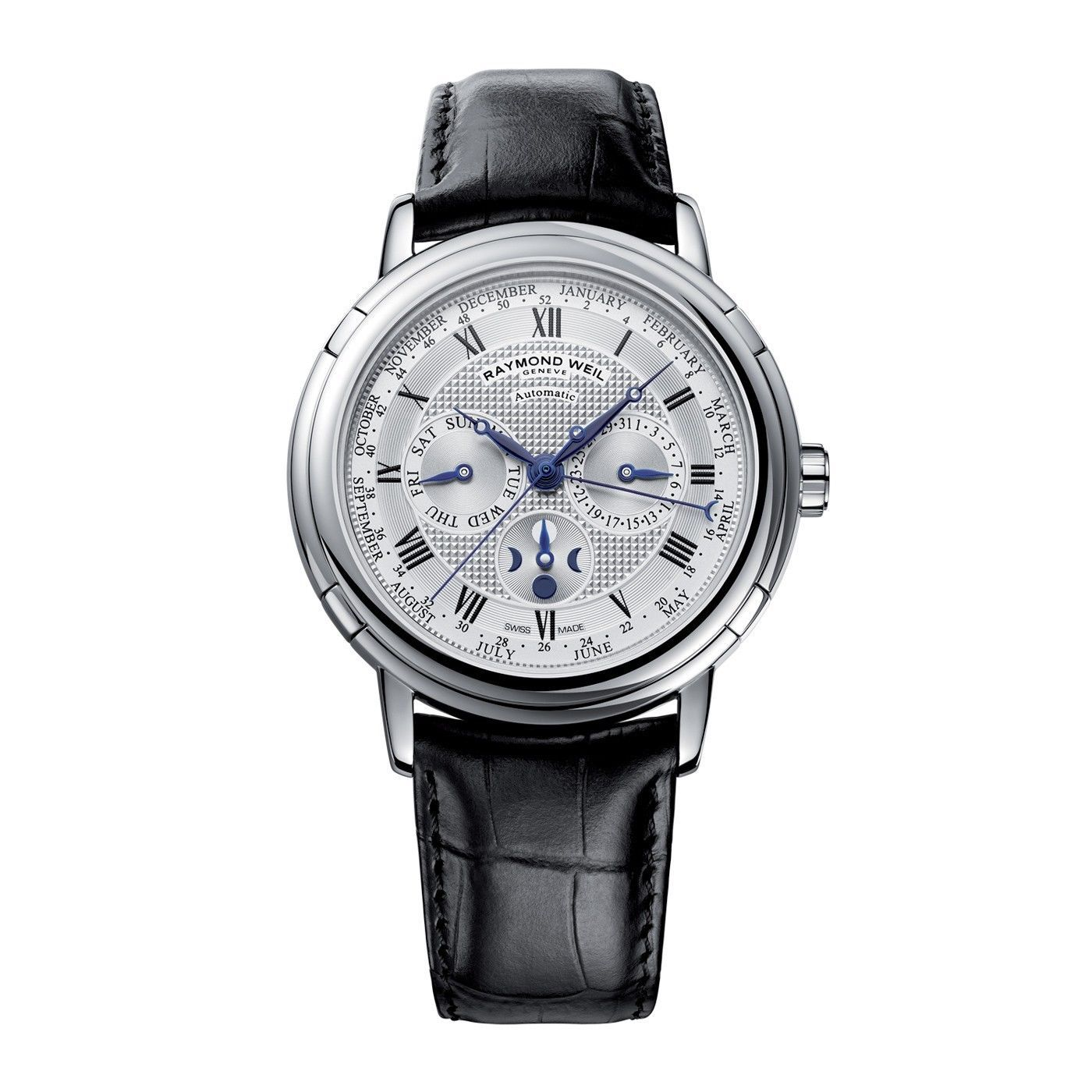 Raymond Weil Maestro Phase De Lune Semainier Review