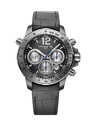 RAYMOND WEIL Nabucco Intenso Special Edition Titanium Automatic Gents Watch 7700-TIR-05207
