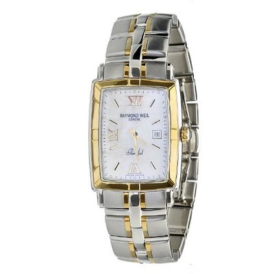 RAYMOND WEIL Parsifal 18ct Gold Gents Watch 9340-STG-00307