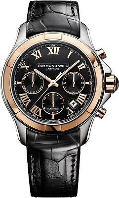 RAYMOND WEIL Parsifal Rose Gold Chronograph Automatic Gents Watch 7260-SC5-00208