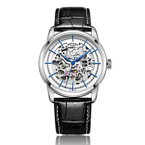ROTARY AUTOMATIC Skeleton Gents Watch GS00342/06