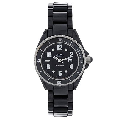 ROTARY Black Ceramic Watch CATKIL10