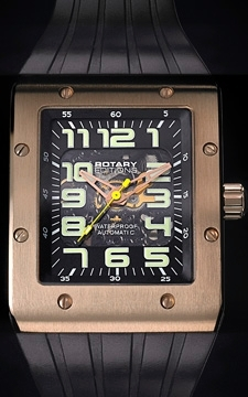 ROTARY Editions 802C AUTOMATIC Gold XL Gents Watch