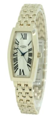 ROTARY Gold plated Ladies Watch LB02496/09