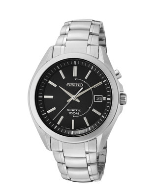 SEIKO Kinetic Stainless Steel Gents Watch SKA523P1