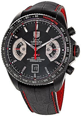 TAG HEUER Grand Carrera Calibre 17 RS2 Automatic Chronograph Gents Watch CAV518B.FC6237