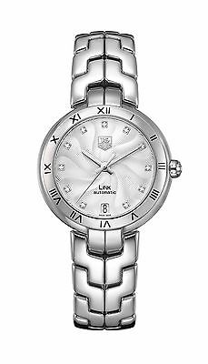 TAG HEUER Link Lady Diamond Dial AUTOMATIC Ladies Watch WAT2311.BA0956