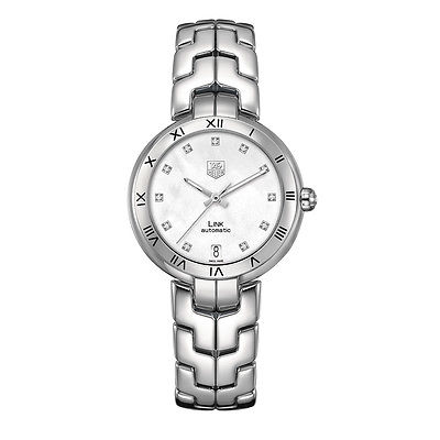 TAG HEUER Link Lady Diamond Dial AUTOMATIC Ladies Watch WAT2315.BA0956