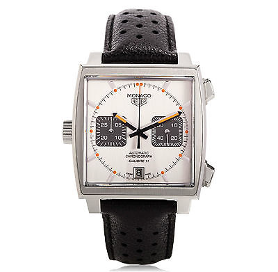 Tag Heuer Monaco Calibre 11 Limited Edition Auto Chrono Gents Watch Caw211c Fc6241