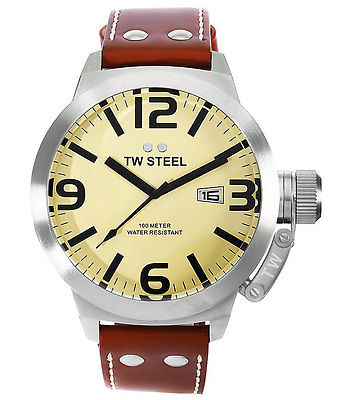 TW STEEL Canteen 50mm Gents Watch TW21