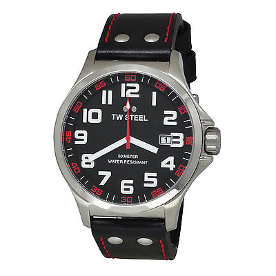 TW STEEL Pilot 48mm Gents Watch TW411
