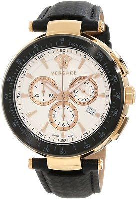 VERSACE Mystique Rose Gold Chronograph Gents Watch I8C80D001 S009