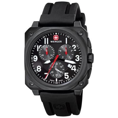 WENGER AeroGraph Cockpit Chrono Gents Watch 77010