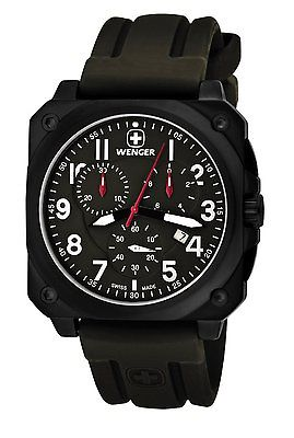 WENGER AeroGraph Cockpit Chrono NATO Gents Watch 77011