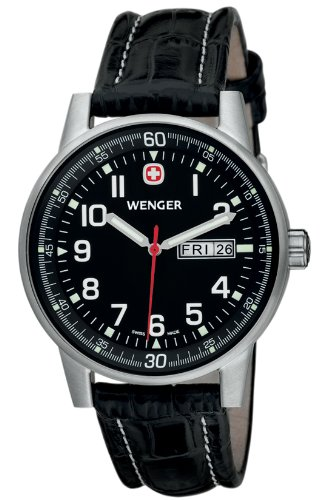 Wenger Commando Xl Day Date Gents Watch 70164 Xl