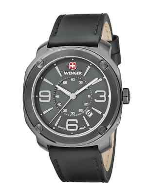 WENGER Escort Gunmetal Gents Watch 01.1051.108