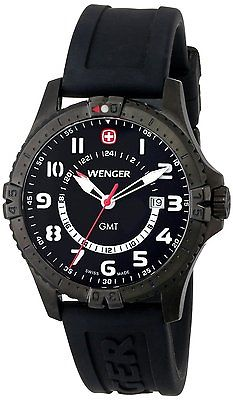 WENGER Squadron GMT Gents Watch 77073