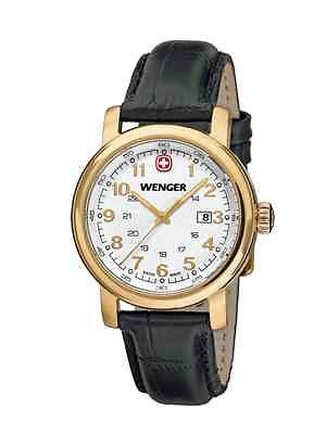 WENGER Urban Classic Yellow Gold Ladies Watch 01.1021.109